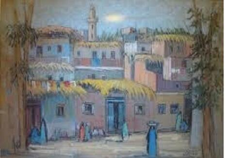 موضوع تعبير فنى عن الريف في مصر