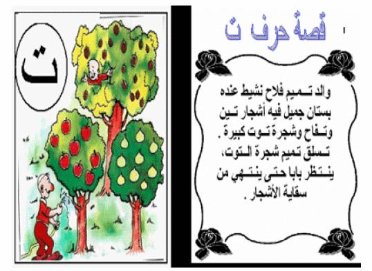 قصص الحروف الهجائية لرياض الاطفال