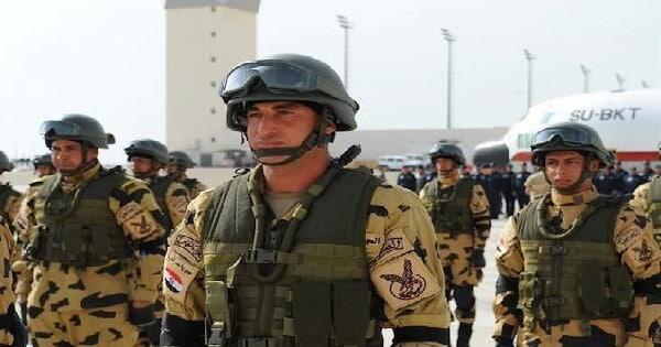 موضوع تعبير عن الجيش المصرى بالعناصر