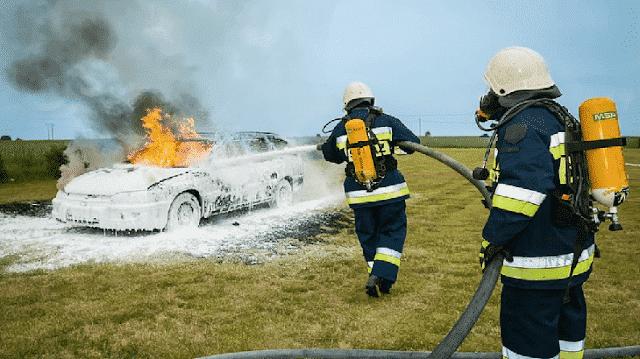موضوع تعبير عن رجل الاطفاء بالعناصر