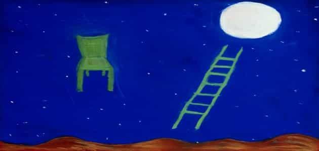 قصة خيالية قصيرة عن القمر والشمس ملزمتي
