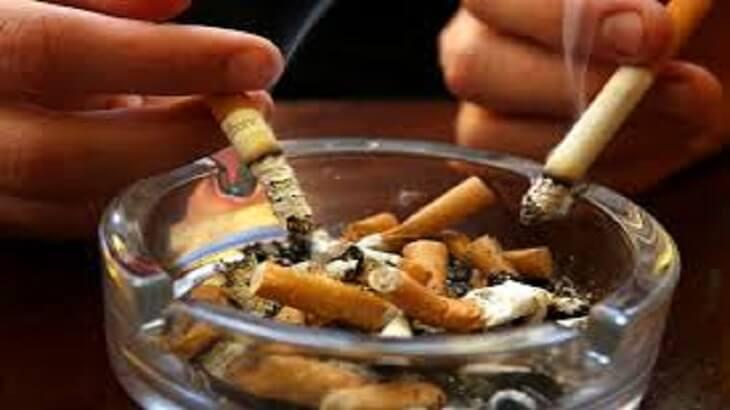 بحث عن التدخين والإدمان ملزمتي