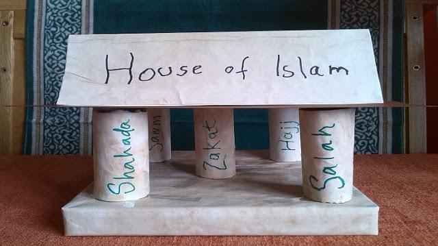 ما هى اركان الاسلام الخمسة بالترتيب