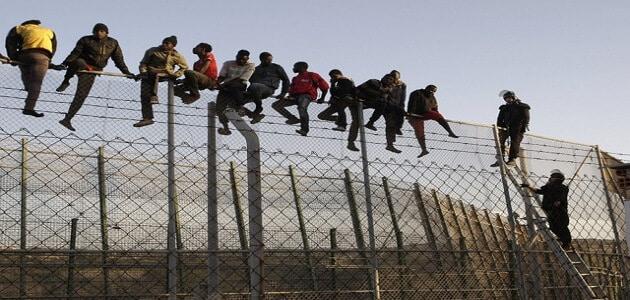 بحث عن الهجرة الغير شرعية للشباب