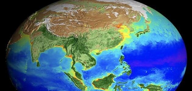 بحث كامل عن شكل الارض وابعادها