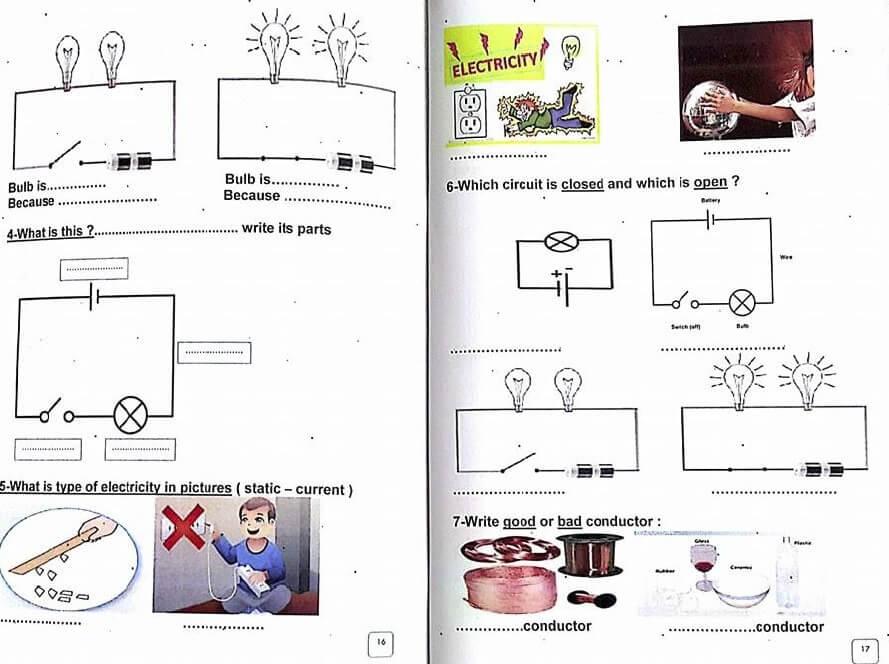 مذكرة science للصف الثاني الابتدائي لغات ترم اول