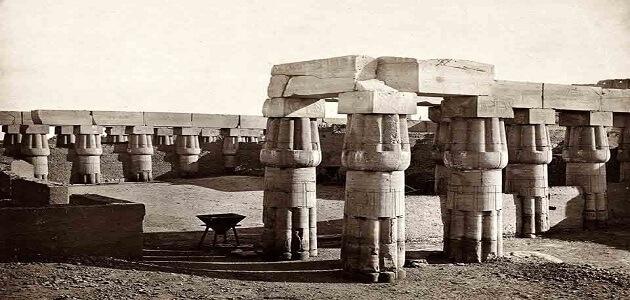 بحث عن الآثار المصرية القديمة وأهميتها (1)