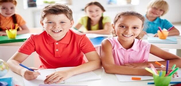 موضوع تعبير عن اليوم الدراسي للصف الخامس الإبتدائي