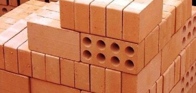 أهم أنواع الطوب المستخدم فى البناء فى مصر بدرجاته
