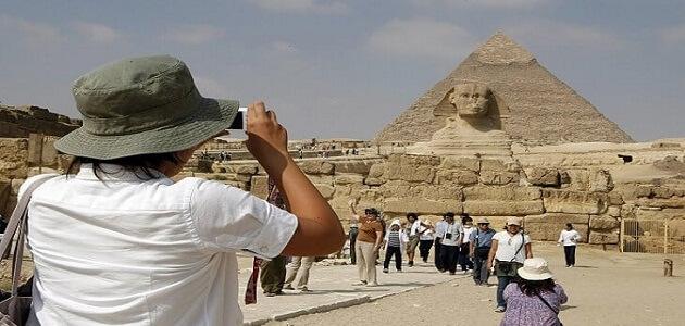 موضوع تعبير عن السياحة في مصر للصف الرابع الابتدائي