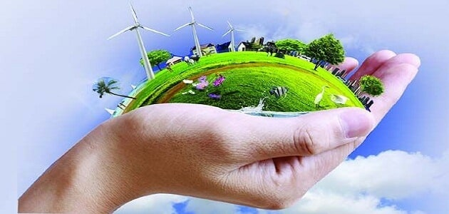 بحث علمي عن البيئة ومفهومها وعلاقتها بالإنسان