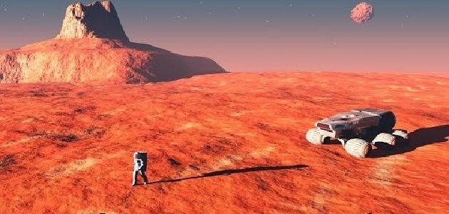 بحث عن كوكب المريخ وماذا يوجد به
