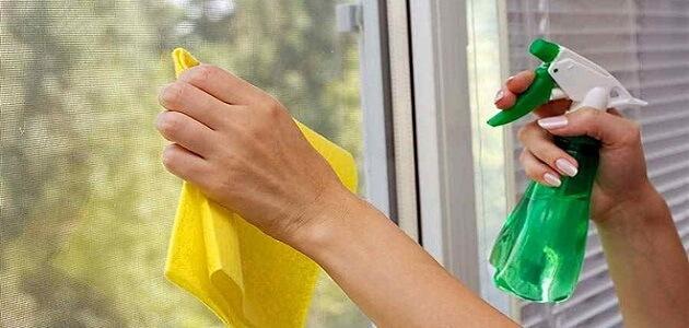 كيفية صناعة المنظفات والمطهرات في البيت
