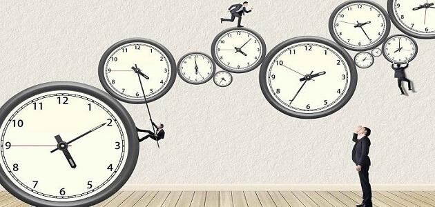 موضوع تعبير عن تنظيم الوقت أساس النجاح ملزمتي