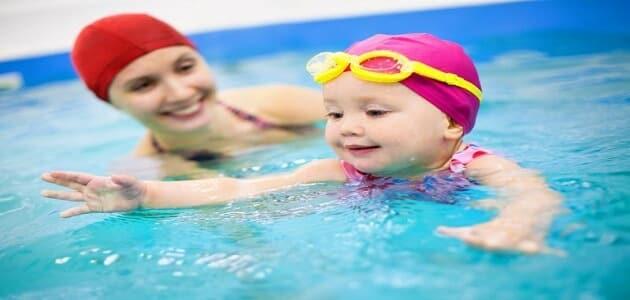 15 معلومة عن اهمية السباحة للاطفال