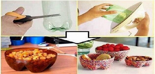 أفكار لإعادة تدوير النفايات المنزلية