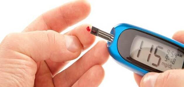 بحث عن مرض السكر بالصور مختصر وجاهز للطباعة