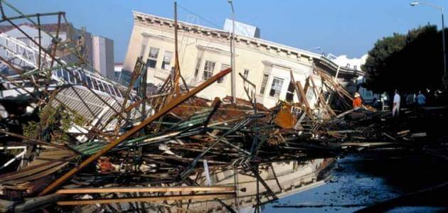 بماذا تقاس قوة الزلزال