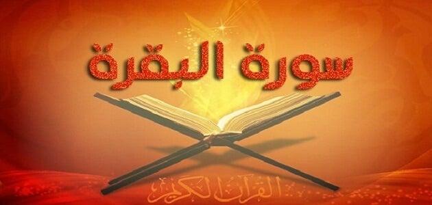 قصة سورة البقرة مختصرة من القرآن الكريم