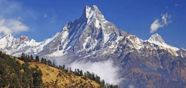 كيف يتم تكوين الجبال