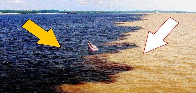 لماذا البحر مالح والنهر عذب