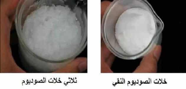 ما هي مادة خلات الصوديوم