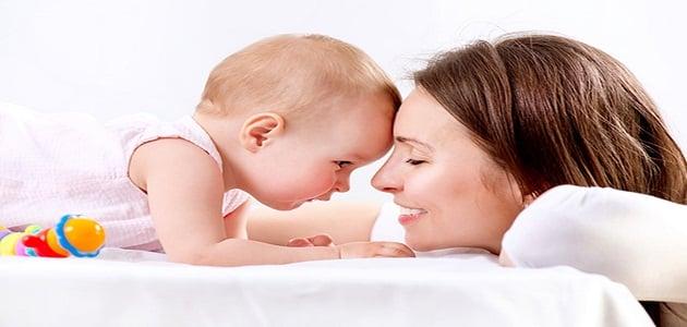 طريقة تربية الطفل الرضيع