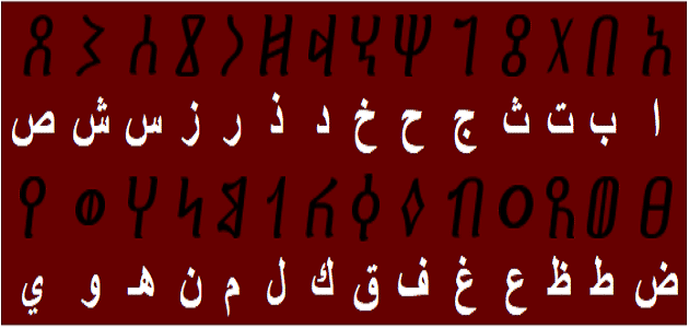 كم عدد الحروف الأبجدية العربية