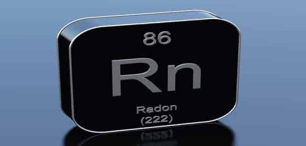 ما معنى غاز الرادون