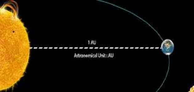 ما مقدار الوحدة الفلكية