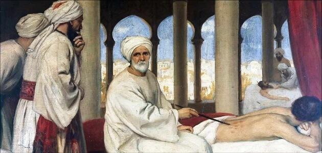بحث عن أحد علماء العرب في الطب