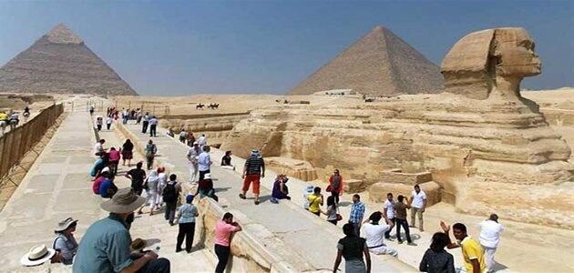 بحث عن أهمية السياحة في مصر