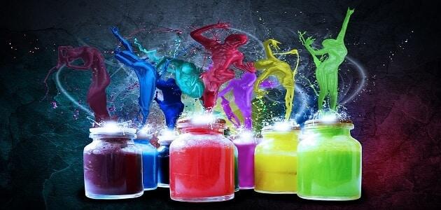 تأثير الألوان على نفسية وشخصية الإنسان