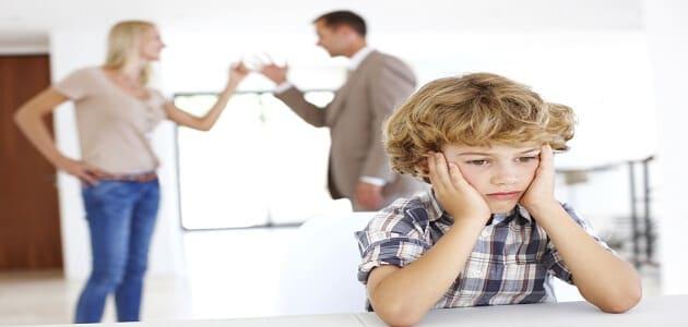 تأثير الطلاق في الأطفال