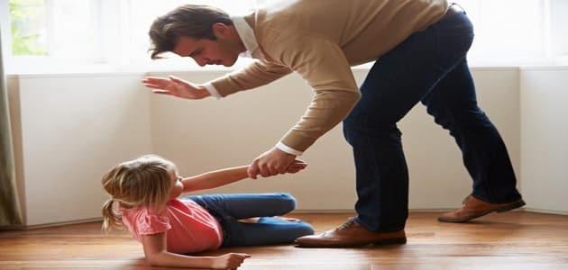 سوء المعاملة للطفل