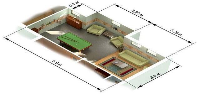 كيفية حساب إجمالي مساحة الشقة
