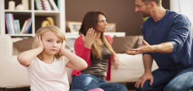 نتائج العنف الأسري على الأطفال