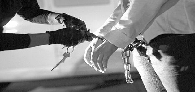 أنواع الجرائم القانونية وعقوبتها
