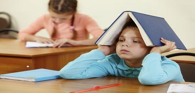 سبب ضعف الطلاب في بعض المواد الدراسية