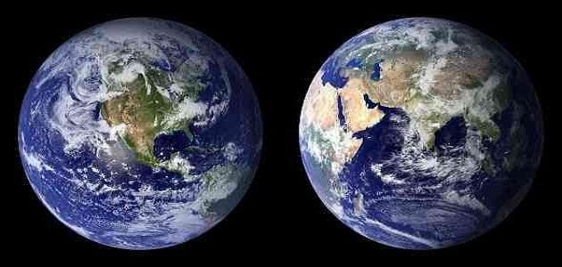 كيف يتكون كوكب الأرض