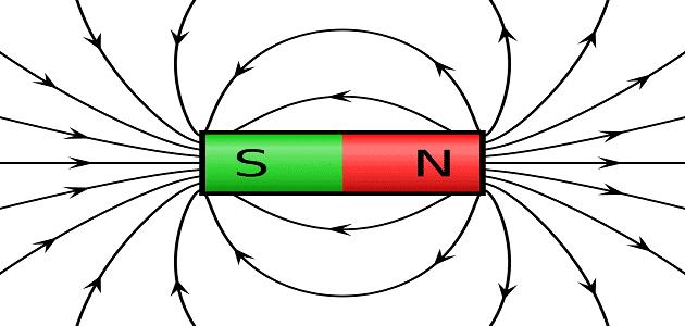 خطوط المجال الكهربائي والمغناطيسي