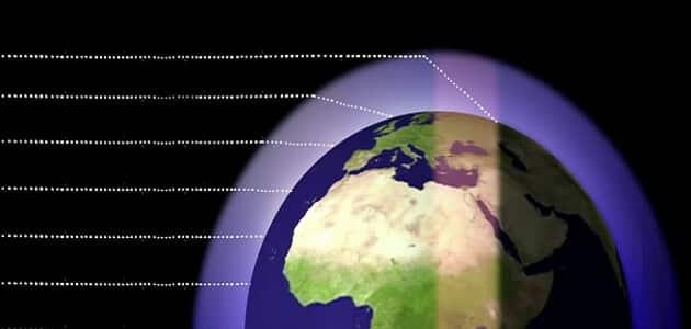 سمك الغلاف الجوي للأرض