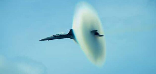 ما هي سرعة الصوت في الهواء