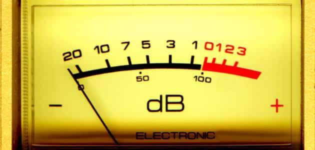 وحدة قياس الصوت والاهتزاز