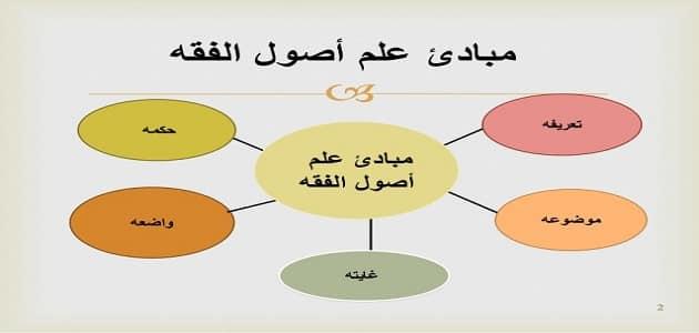 تعريف أصول الفقه بالتفصيل
