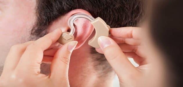 بحث عن الاعاقة السمعية مع المراجع