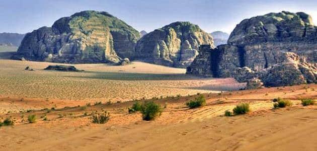 بحث عن البيئة الصحراوية وخصائصها