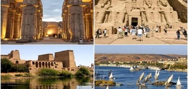 بحث عن اهم المعالم السياحية فى مصر