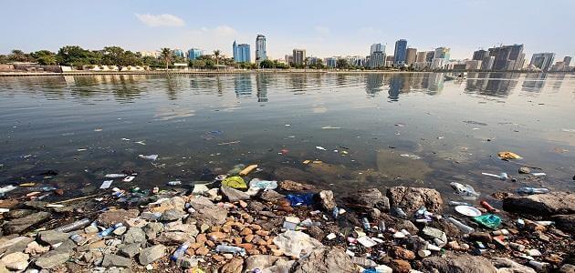 بحث عن تلوث المياه كامل مع المراجع