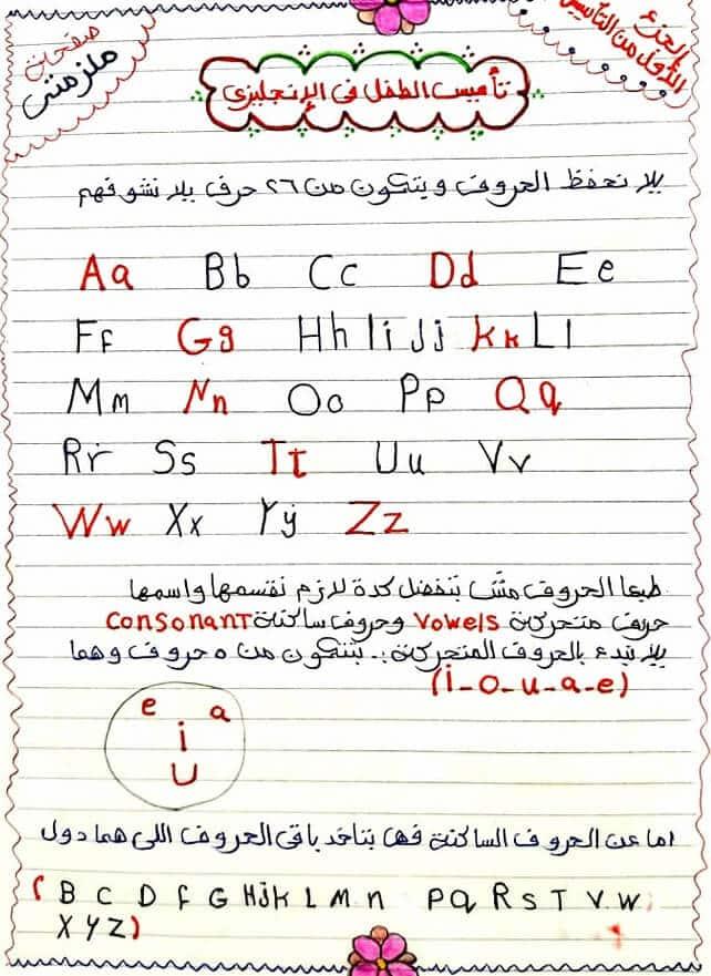 أقوى ملزمة تأسيس للأطفال في اللغة الانجليزية
